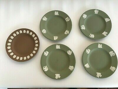 5  Wedgwood Jasperware Side Plates  In Excellent Condition . • 38£