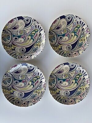 Denby Monsoon Cosmic Salad Plate X4 • 15£
