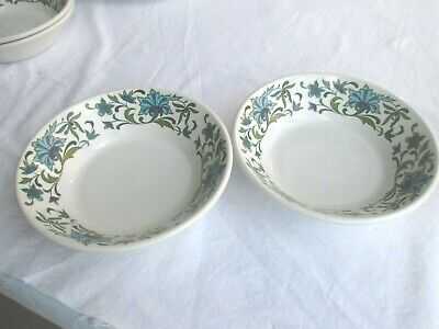 2 X Midwinter  Spanish Garden  Cereal/Pudding Bowls • 4.99£
