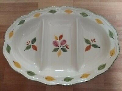 Large Marks & Spencer Dish - Alfresco Pattern Divided Into 3 Sections  • 15£