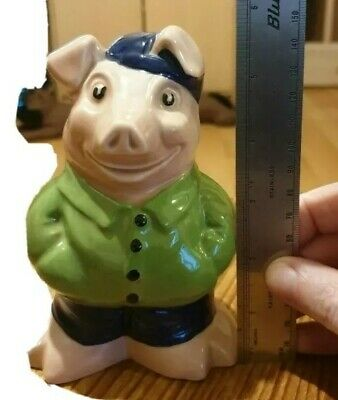 Cousin Wesley,nat West Pigs Paul Cardew Highly Collectable Wade Sunshine... • 117£