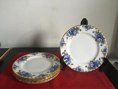 Royal Albert MOONLIGHT ROSE - 8 Inch PLATES  Excellent 2nd • 9£