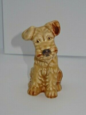 "Collectable Vintage SylvaC 1378 Beige Terrier Dog  5"" Inches  • 19.95£"