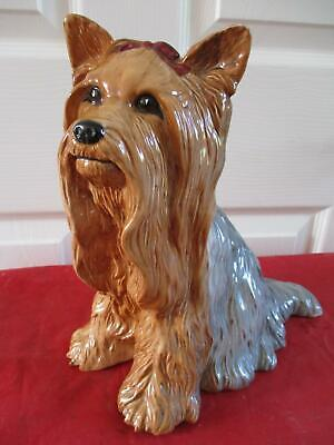 Large BESWICK FIRESIDE YORKSHIRE TERRIER MODEL NO. 2377 PERFECT • 38.99£