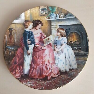 Royal Doulton Collectable Plate  Bed Time Story  • 5£
