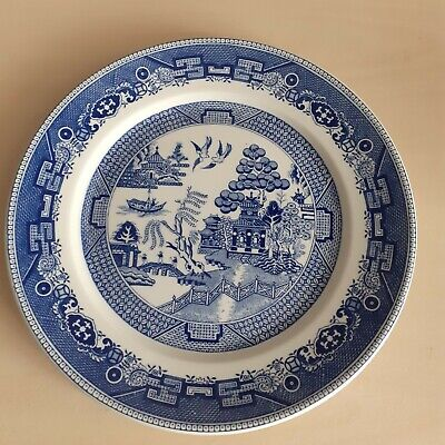 Vintage Duraling Super Vitrified Grindley Hotelware Co Plate 23 Cm • 5£