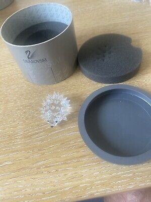 RARE Retired Swarovski Crystal Small Oval Hedgehog No Whiskers 013989 Boxed 7669 • 12.30£