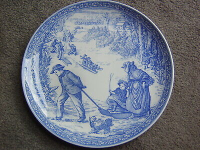 The Spode Blue Room Collection :  Christmas Plate No. 3 • 8£