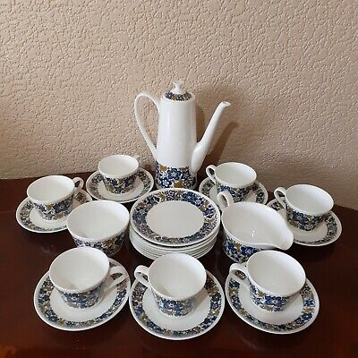 Royal Tuscan Nocturne Fine Bone China Made In England Tea Set • 40£