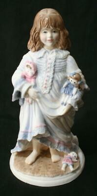 Beautiful Limited Edition Royal Worcester Figure - Lullaby NSPCC 7 1/2  • 0.99£