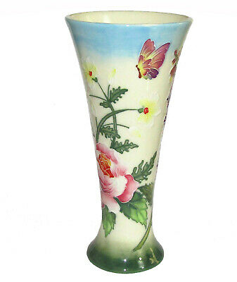 OLD TUPTON WARE Pottery Vase ' Floral Pattern ' BOXED  (6573A)  • 35£