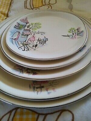 Alfred Meakin Rare Opportunity Montmatre Design Full Single Serve Place Setting • 11£