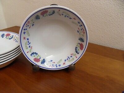 Bhs British Home Stores Priory Set Of 6 Cereal / Dessert  Bowls  • 33£
