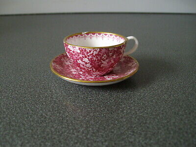 Spode / Miniature Cup And Saucer         • 1£