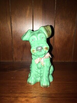 Sylvac England - Green Sitting Terrier Dog Model 1378. Mint Condition • 28.76£