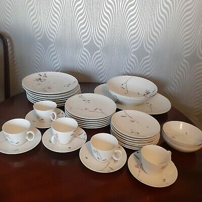 Vintage Raymond Loewy Continental China Luince Germany Dinner Ware • 60£