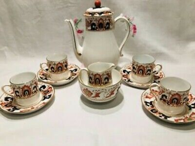 Vintage Tuscan China Coffee Set For Four  • 20.50£