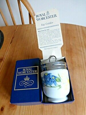 Royal Worcester Egg Coddler Boxed With Instructions • 7.50£