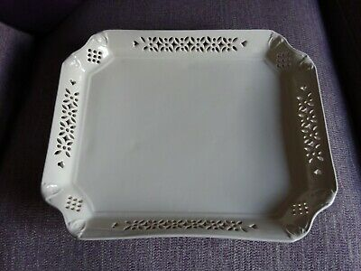 Leeds / Royal Creamware Large Serving Tray  • 10£