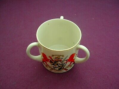Large Goss Crested China Loving Cup. Greenwich / Kent / England • 4.99£