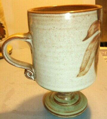 Briglin Pedestal Style Small Mug- Beautiful Piece In Excellent Condition • 1.99£