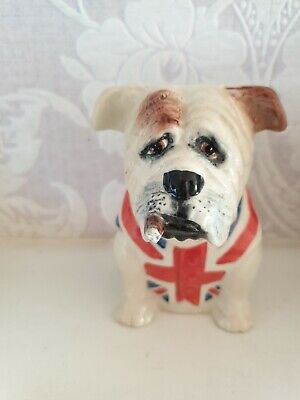 This Amazing Figurine By Bairstow Manor Collectables  Of A British Bull Dog . • 15£