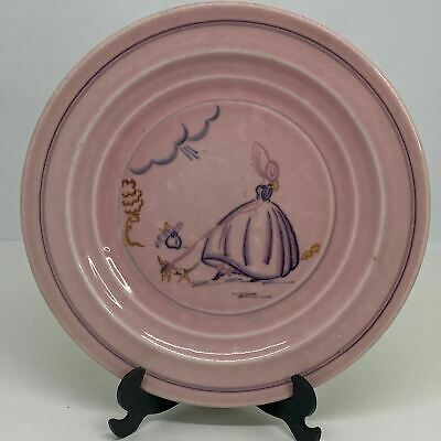 BRANKSOME CHINA Hand Painted Inlay Colours PINK TEA PLATE 6.75  • 8.99£