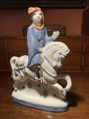 Rye Pottery  Canterbury Tales Figurines;  The Knight. Excellent Condition • 15.50£