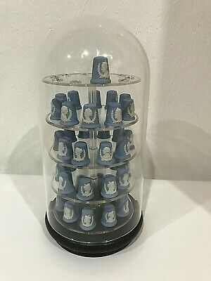 Full Set Of Wedgwood Jasperware Kings And Queens Of England Thimbles  • 260£