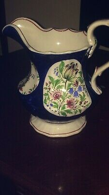 1853 Antique Hand Painted Vase • 2£