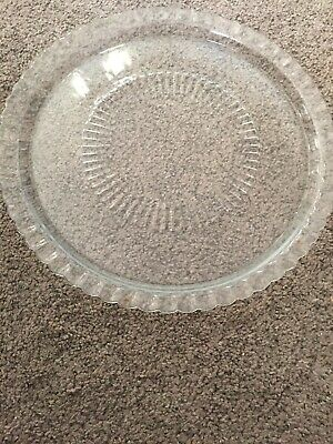 Glass Serving Plate • 0.85£