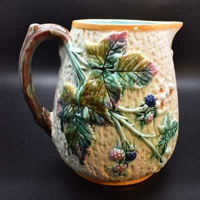 Large Antique Wedgwood Majolica Pitcher Ewer - • 13.50£