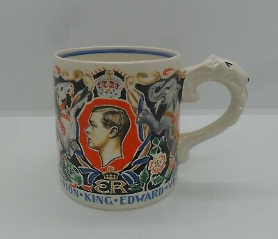 Dame Laura Knight Design Coronation Mug - Edward V111 - May 1937 • 15£