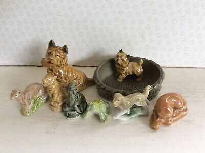 8off COLLECTABLE WADE ENGLAND ITEMS ( WHIMSIES & DOGS ) • 2.99£
