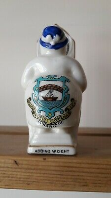 Arcadian China Crested China Adding Weight - The Fat Lady Sings Tonbridge • 35£