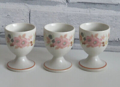 3 X Hedge Rose Egg Cups, Hedgerose, Boots, Vintage, Retro Hedge Rose  • 4£