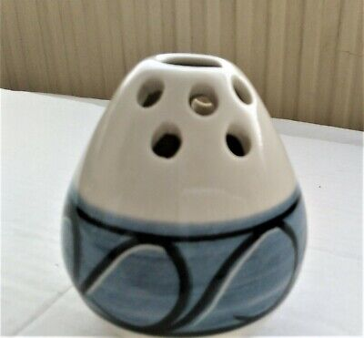 Vintage Posy Holder From Jersey Pottery -60s 70s- Fragrance Diffuser • 9.99£