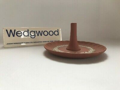 Wedgwood Terracotta Jasperware Ring Holder In Excellent Condition . • 29.99£