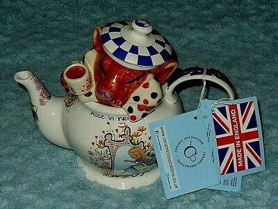 Paul Cardew Tea Pot Alice In Wonderland DORMOUSE - Made In England $170 NWT  • 92.14£