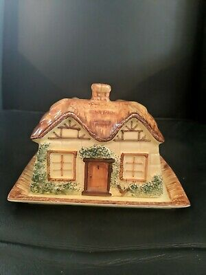 Vintage Keele St Pottery Co. Ltd Butter Dish • 4£