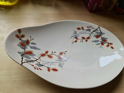 Royal Staffordshire Clarice Cliff  Oval Serving Dish/Plate    • 10£