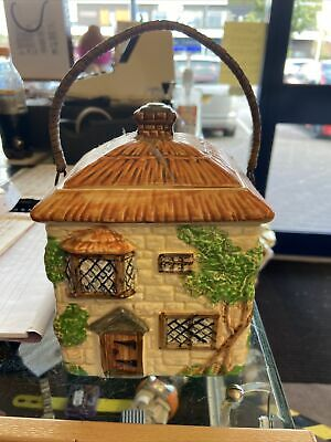 Beswick Ware Country Cottage Pottery Biscuit Barrel • 5£