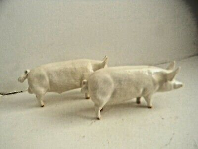 Beswick Champion Wall Boy And Champion Wall Queen Pigs (2) • 4.99£