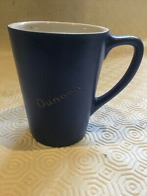 Blue Devonware Pottery Mug From Dunoon. • 6.25£