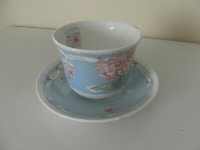 Roy Kirkham  Pink Hydrangea   Breakfast Cup And Saucer - Large Cup And Saucer • 10.25£