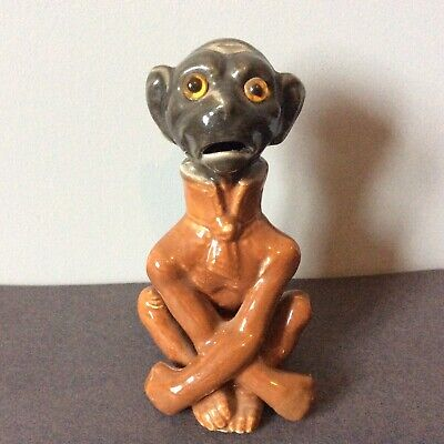 Antique Monkey With Glass Eyes C. 1880 • 248£