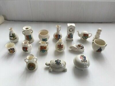16 Pieces Of Crested China Ware In Excellent Condition • 4.99£