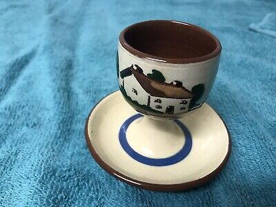 Watcombe Motto Ware  Egg Cup • 4.95£