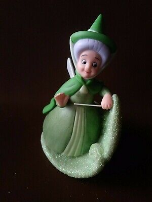 Retired Disney Fauna Sparkly Figurine From Sleeping Beauty Stored Away • 33.13£