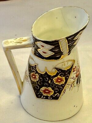 Hughes Fenton, Staffordshire Jug In The Style Of Japanese Imari Porcelain • 3.95£